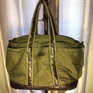 Eddie Bauer Canvas Overnight/Duffle Bag